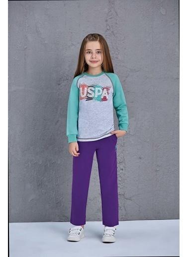 U.S. Polo Assn. Erkek Çocuk Eşofman Takımı Gri